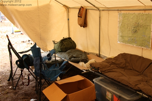 Inside of the tent, pic12a