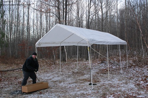 Camp Kitchen/Mess Tent/Chow Tent