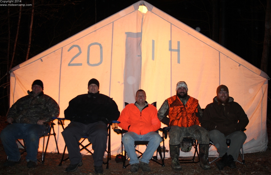 MI Deer Camp 2014 Group Picture