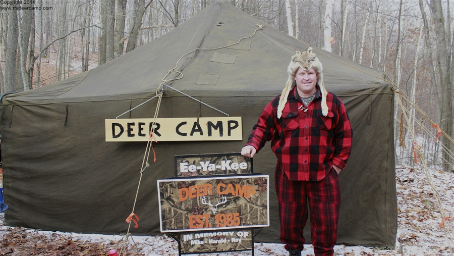 Coyote Mike and the Ee-Ya-Kee Deer Camp