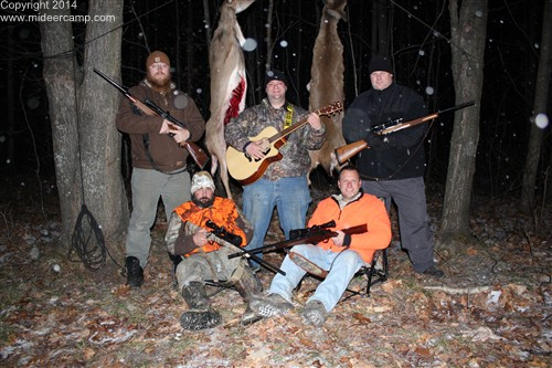 Deer Camp Group Picture
