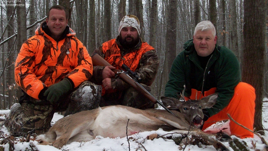 Steve's First Deer with Dave and John
